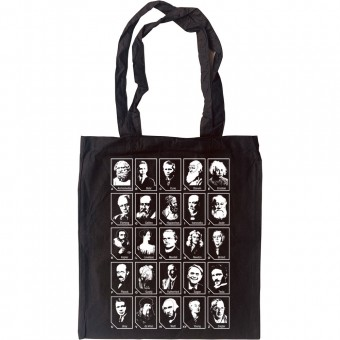 A-Z Of Scientists Tote Bag