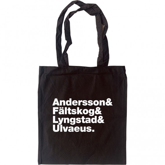 ABBA Line-Up Tote Bag