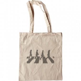 Abbey Road Silhouette Tote Bag