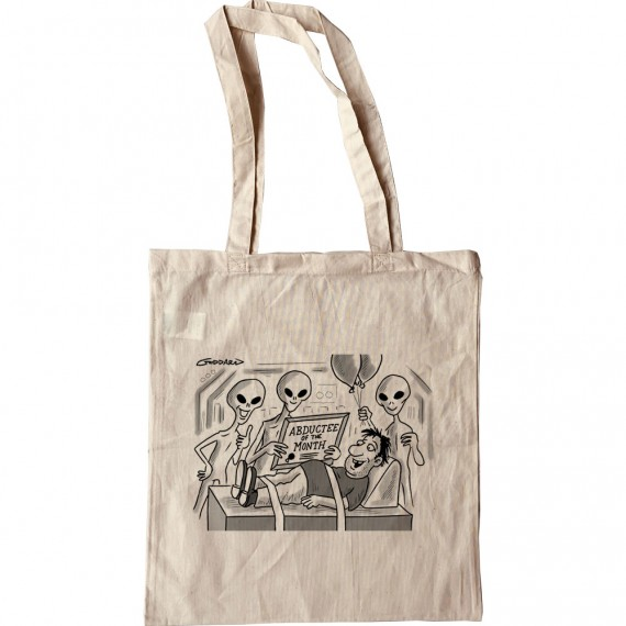 Abductee Of The Month Tote Bag