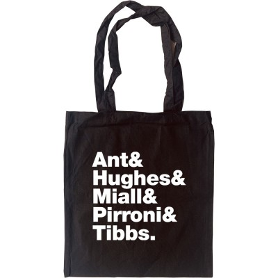 Adam and the Ants Line-Up Tote Bag