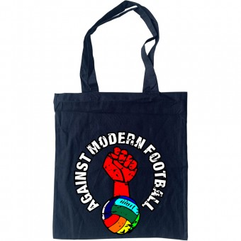 Against Modern Football (Rainbow) Tote Bag