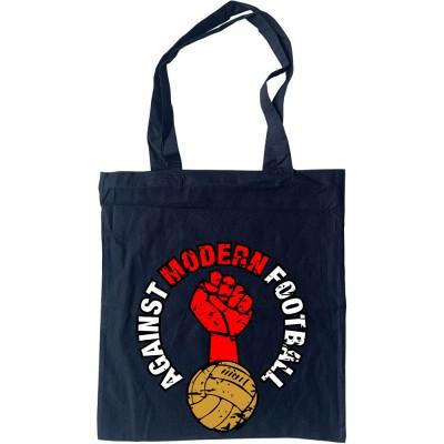 Against Modern Football Tote Bag