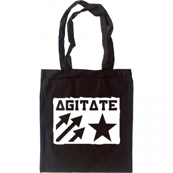 Agitate Tote Bag
