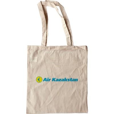 Air Kazakstan Tote Bag