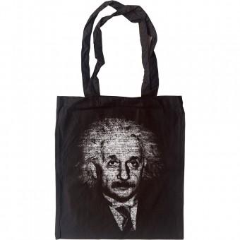 Albert Einstein Formulae Tote Bag