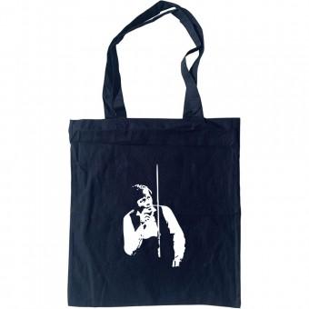 Alex Higgins Smoking Tote Bag