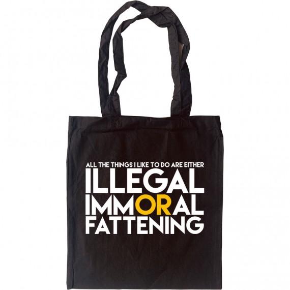 All The Things I Like... Tote Bag