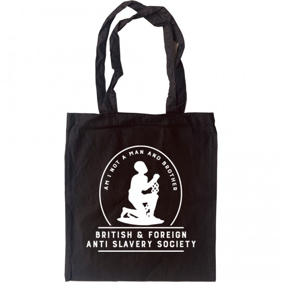 Am I Not A Man And Brother? Tote Bag