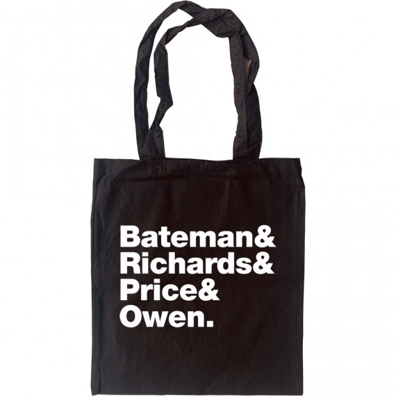 American Psycho Line-Up Tote Bag