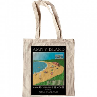 Amity Island Tote Bag