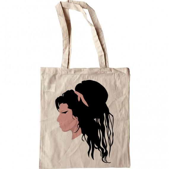Amy Winehouse Portrait Tote Bag