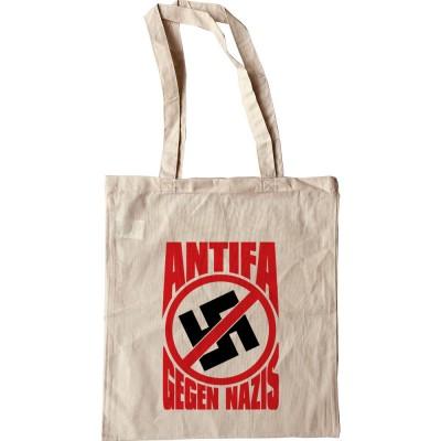 Antifa: Gegen Nazis Tote Bag
