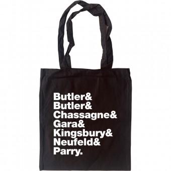 Arcade Fire Line-Up Tote Bag