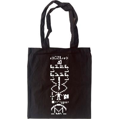 Arecibo Message Tote Bag