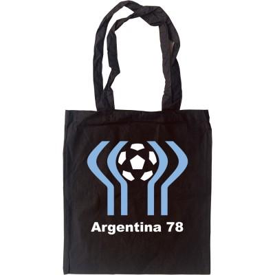 Argentina 78 Tote Bag
