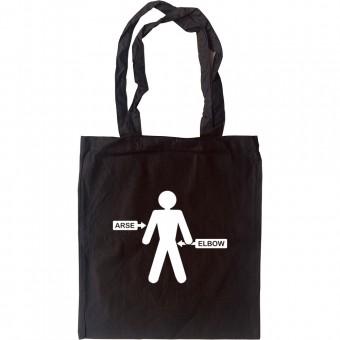 Arse/Elbow Tote Bag