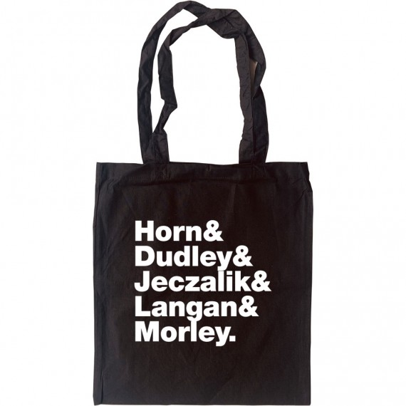 Art Of Noise Line-Up Tote Bag