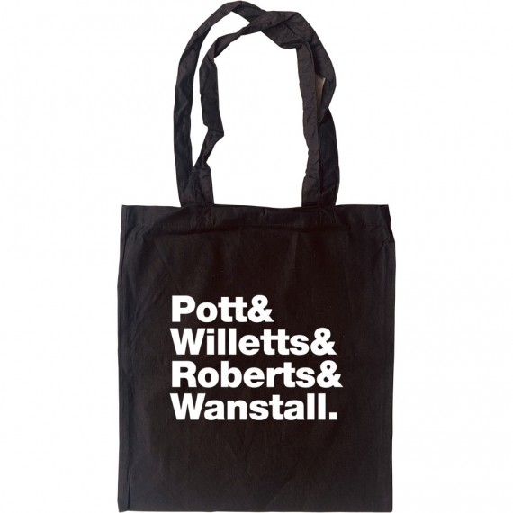 Athlete Line-Up Tote Bag