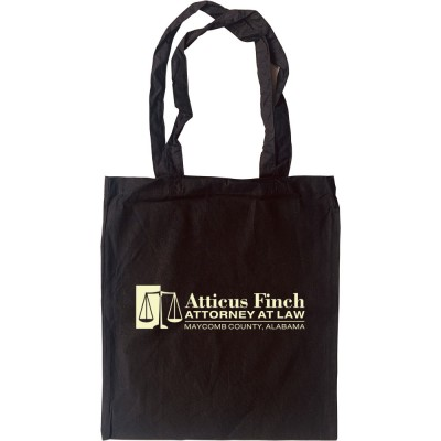 Atticus Finch: Attorney At Law Tote Bag