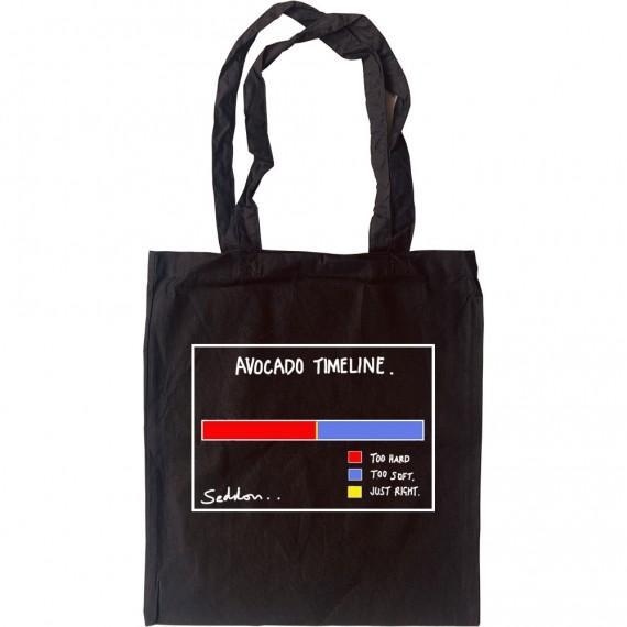 Avocado Timeline Tote Bag