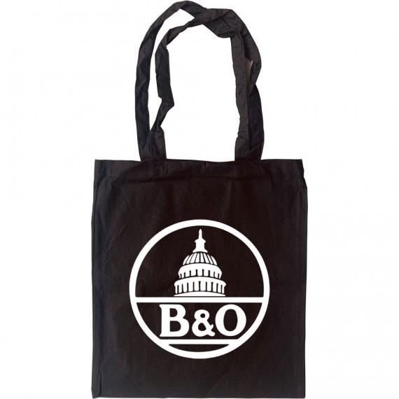 Baltimore and Ohio Railroad Tote Bag