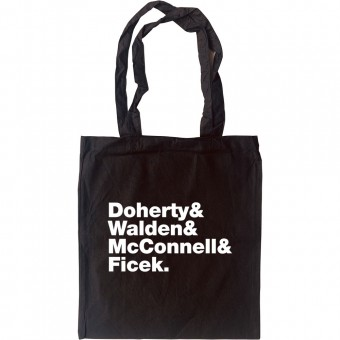 Babyshambles Line-Up Tote Bag