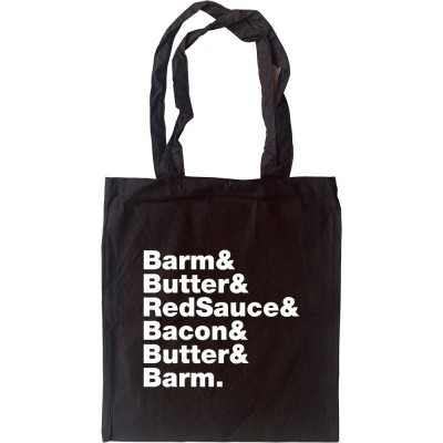 Bacon Barm Line-Up Tote Bag