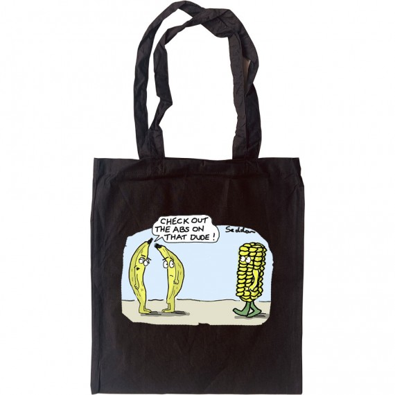 Banana Abs Tote Bag