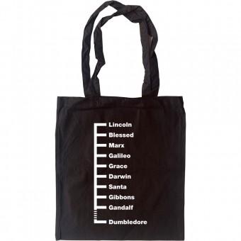 Beard Lengths Tote Bag