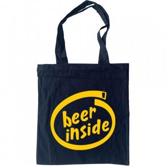 Beer Inside Tote Bag