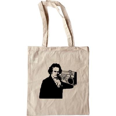Beethoven Ghetto Blaster Tote Bag