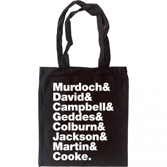 Belle & Sebastian Line-Up Tote Bag