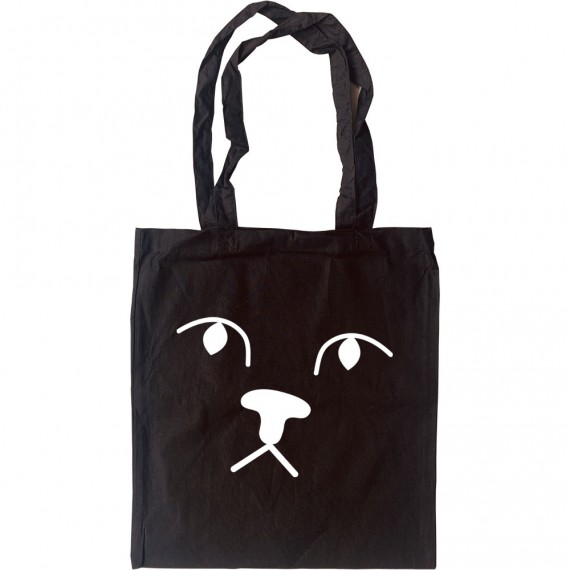Big Cat Face Tote Bag