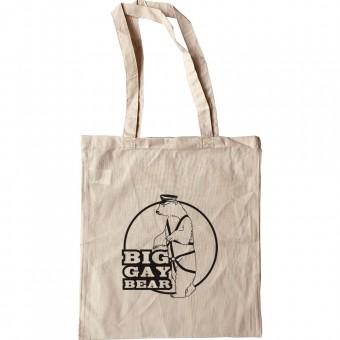 Big Gay Bear Tote Bag
