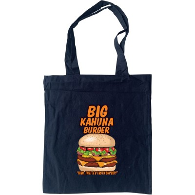 Big Kahuna Burger Tote Bag