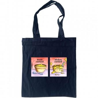 Birds Custard/Blokes Custard Tote Bag