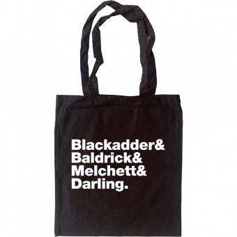 Blackadder Line-Up Tote Bag