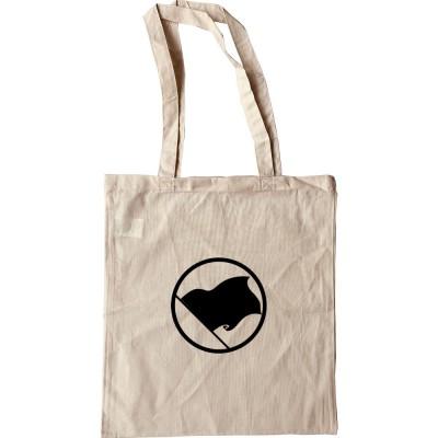 Black Anarchist Flag Tote Bag