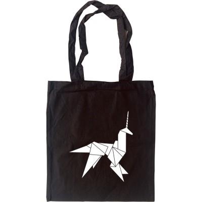 Blade Runner Origami Unicorn Tote Bag