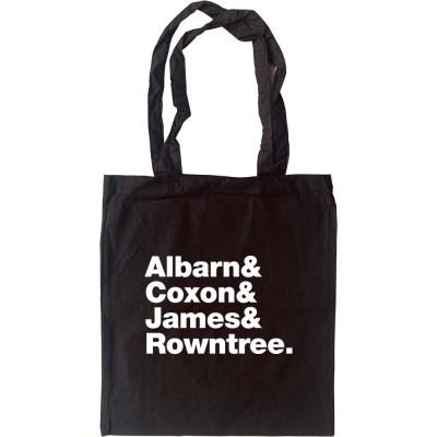 Blur Line-Up Tote Bag