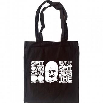 Bob Crow Tote Bag