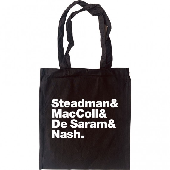 Bombay Bicycle Club Line-Up Tote Bag