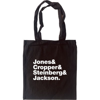 Booker T and the M.G.s Line-Up Tote Bag