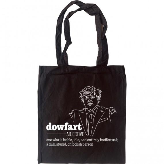 "Boris Johnson ""Dowfart"" Tote Bag"