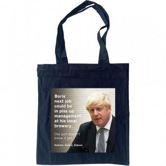 Boris' Next Job Tote Bag