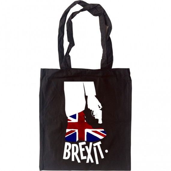 Brexit (Shooting Yourself In The Foot) Tote Bag