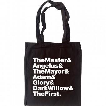 """Buffy """"Big Bad"""" Line-Up Tote Bag"""