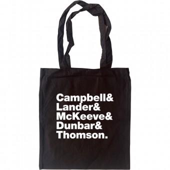 Camera Obscura Line-Up Tote Bag