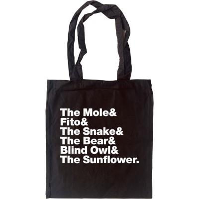Canned Heat (Nicknames) Line-Up Tote Bag